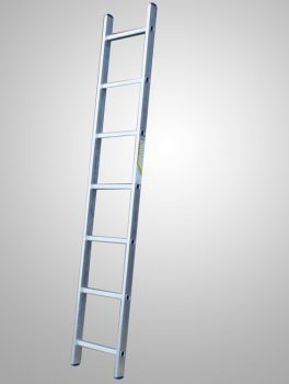 Лестницы алюминиевые односекционные