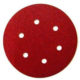 Диск самозацепляющийся 6 отверстий (круги на липучках)