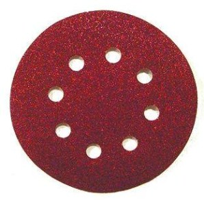 Диск самозацепляющийся 8 отверстий (круги на липучках)
