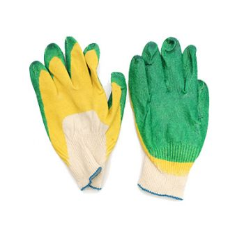 перчатки латексные с двойным покрытием люкс
