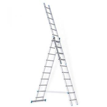 Трехсекционная промышленная лестница